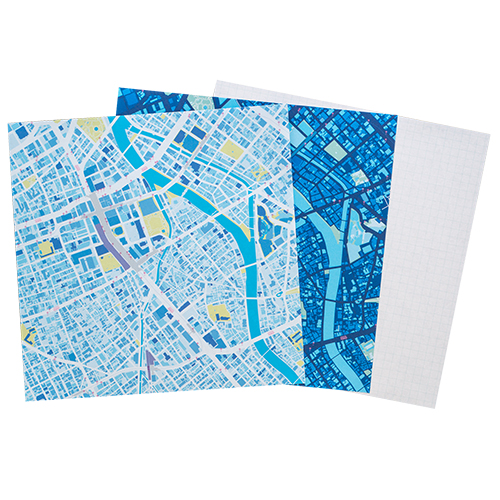 MAP WRAP NOTEPAD/福岡・天神
