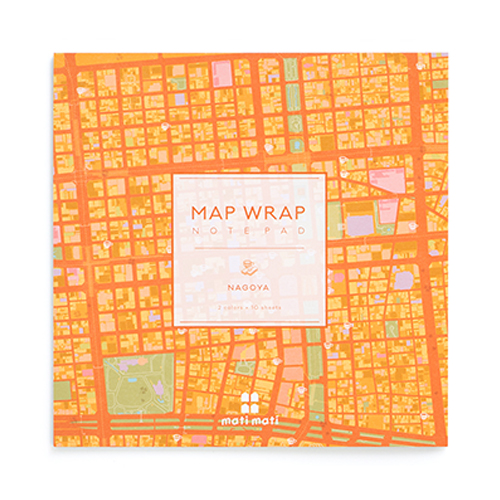 MAP WRAP NOTEPAD/名古屋