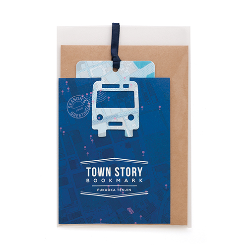TOWN STORY BOOKMARK/福岡・天神